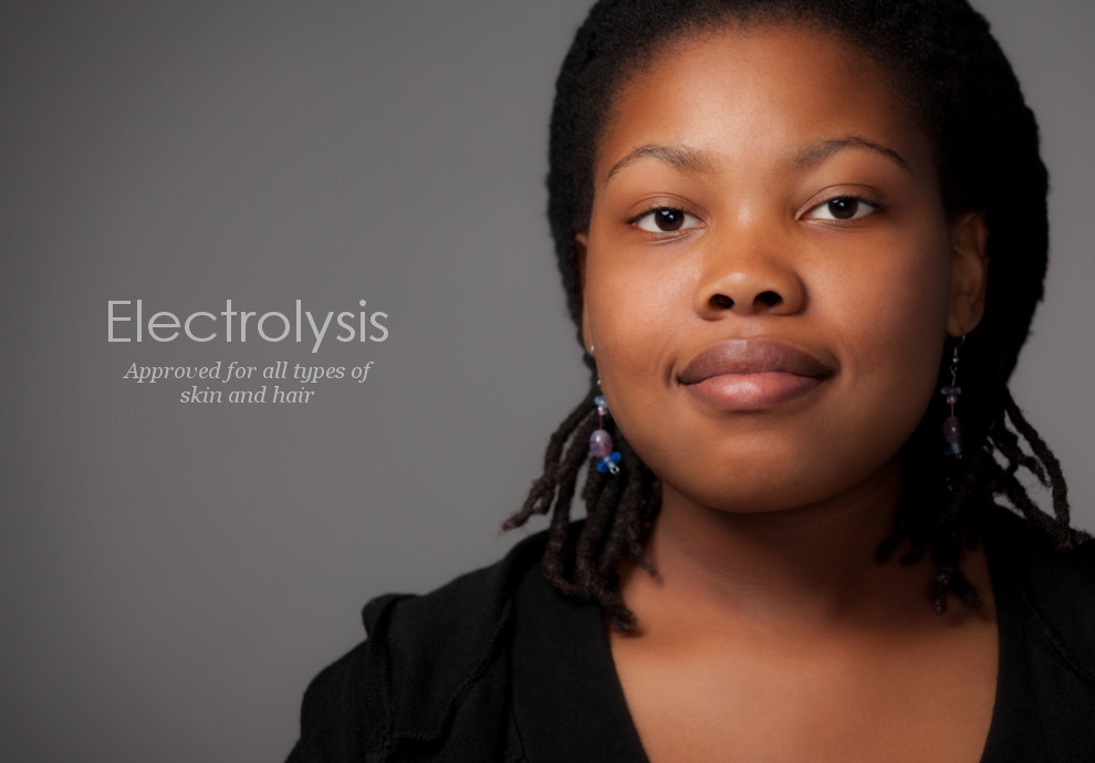Electrolysis is permanent hair removal for dark skin