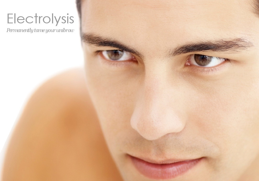 Electrolysis is permanent hair removal for men